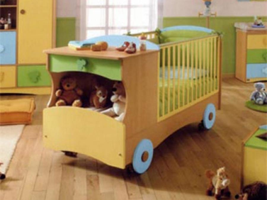 Удобное спальное место для малыша