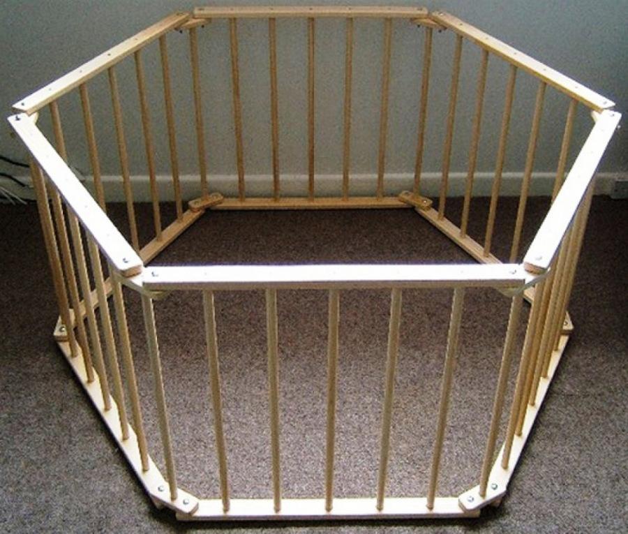 Манеж предназначен для детей в возрасте от 5—9 месяцев