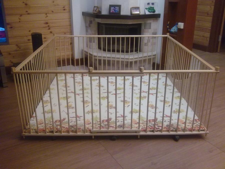 Модель детского манежа