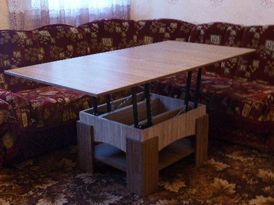Изготовление стола трансформера своими руками