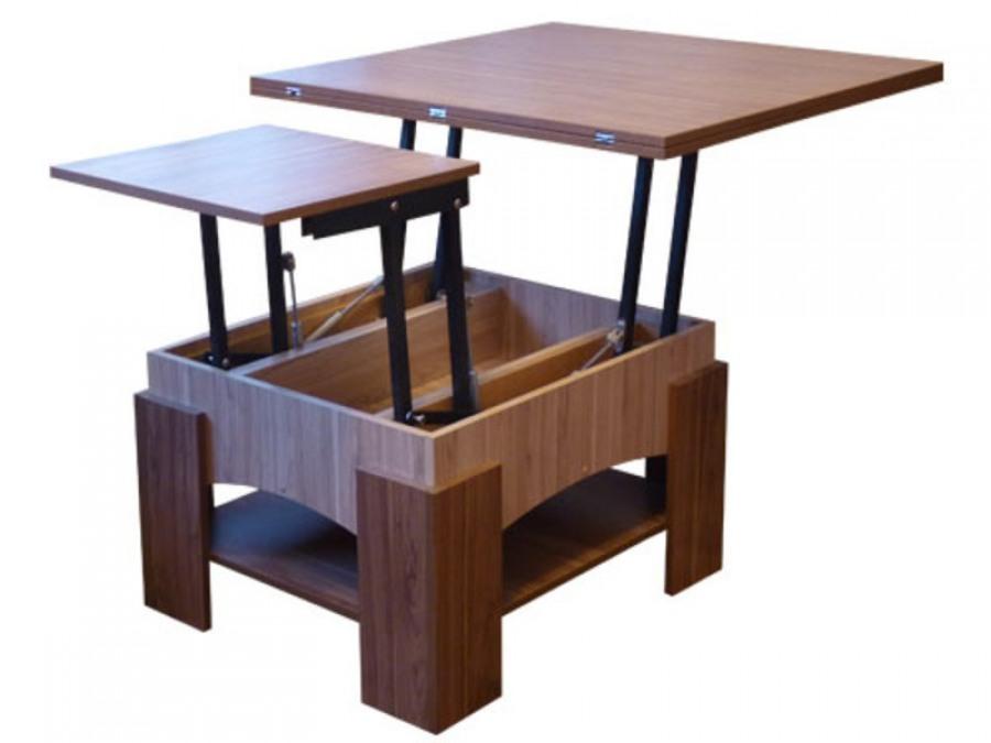 Стол с раздвижным механизмом