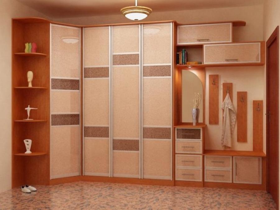 Модные шкафы в прихожей