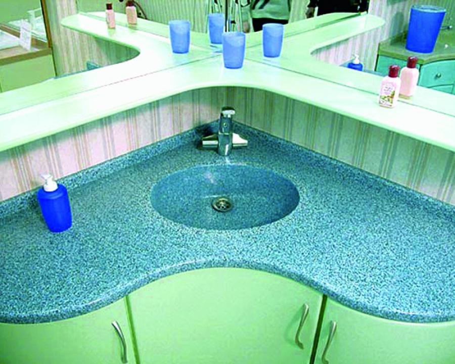 Материалы мебели для ванной