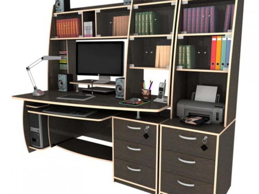Угловой стол - это конструкция, позволяющая оптимально использовать место.