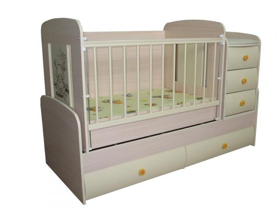 Выбираем детскую кроватк
