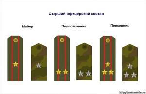 Старший офицерский состав