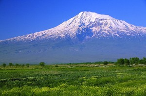 Гора Арарат в  Ереване - фото