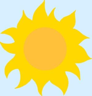 Какое солнце нарисовать