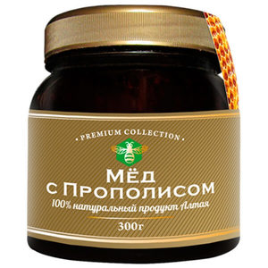 Польза меда - приготовление меда с прополисом