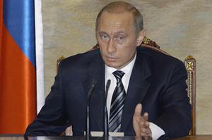 Владимир Путин на совещании