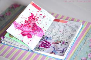 Яркий личный дневник школьницы