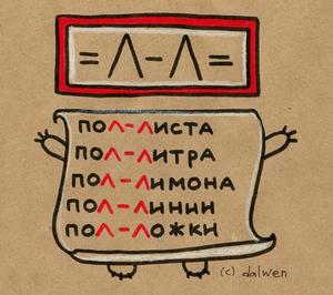 Рисунок правил