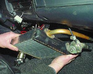 Как самостоятельно починить радиатор печки Ваз 2107