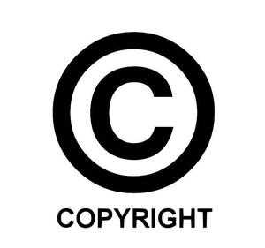 Обозначение знака копирайта