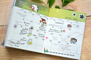 Как украсить дневник