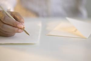 Подписание конверта согласно правил