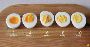 Время готовки яиц