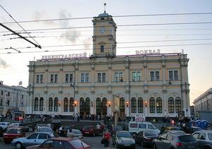 Ленинградский вокзал был построен в 1855 году