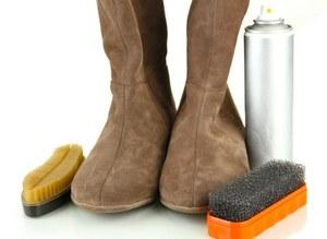 Как почистить замшевые сапожки