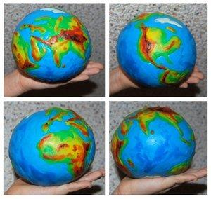 Глобус своими руками