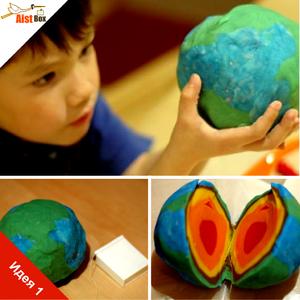 Способы изготовления макета земли