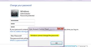 Защитный пароль на компьютере