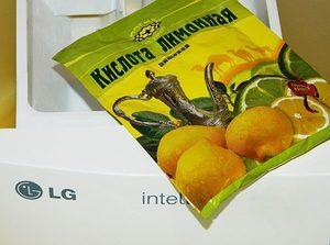 Как использовать лимонную кислоту для чистки стиральной  машинки