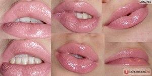 Как увеличить губы с помощью нюдовой помады