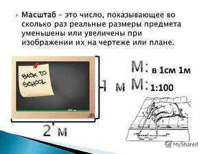 Применение калькулятора для вычисления масштаба