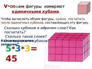 Правила расчета кубометра