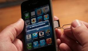 Как вставить сим карту в айфон