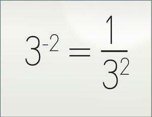Дробная степень числа - пример