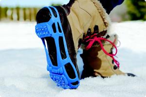 Как избежать скольжения сапог на снегу