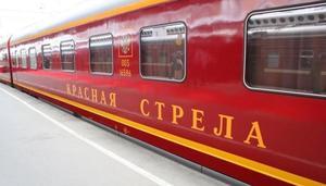 От Питера до Москвы поездом