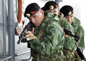 Морская пехота (МП) - род береговых войск ВМФ