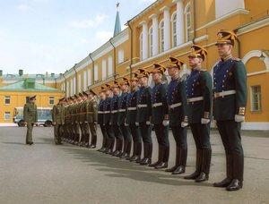 Кремлёвский полк на площади