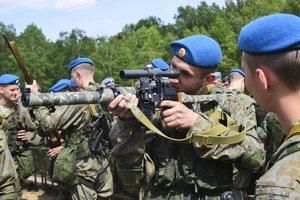 Отряд ВДВ Российской армии