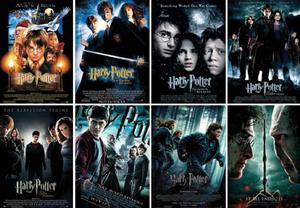 Гарри Поттер в книгах