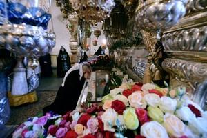Мощи святой Матроны Московской