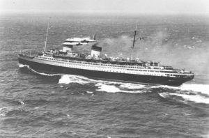 «Рекс» (Италия) удерживал Голубую ленту Атлантики с 1933 по 1935 годы