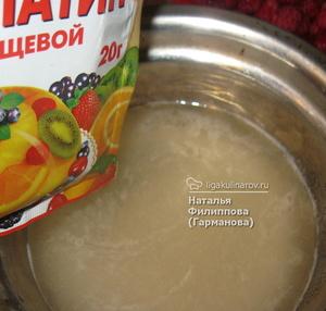 Как использовать желатин