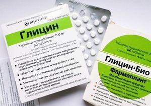 Прием препарата глицин