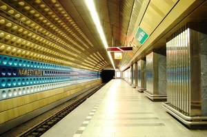 Станция в Праге