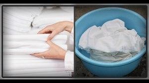 Инструкция по отбеливанию белья