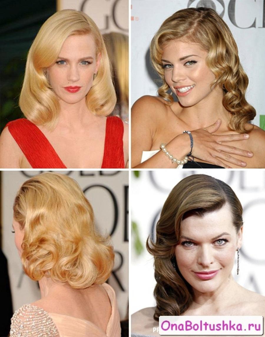 Женские прически на средние волосы