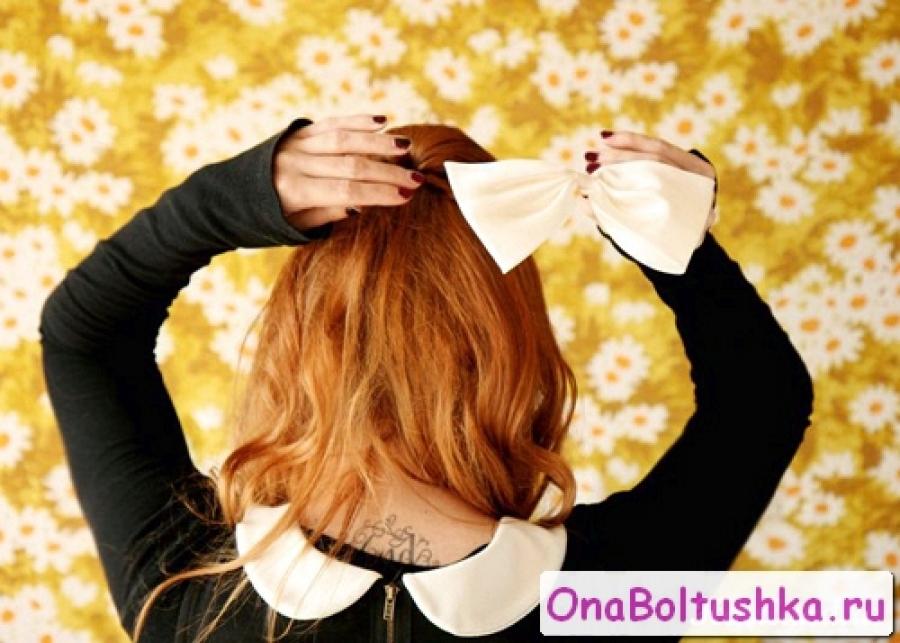 Как сделать повседневную прическу для длинных волос поэтапно3