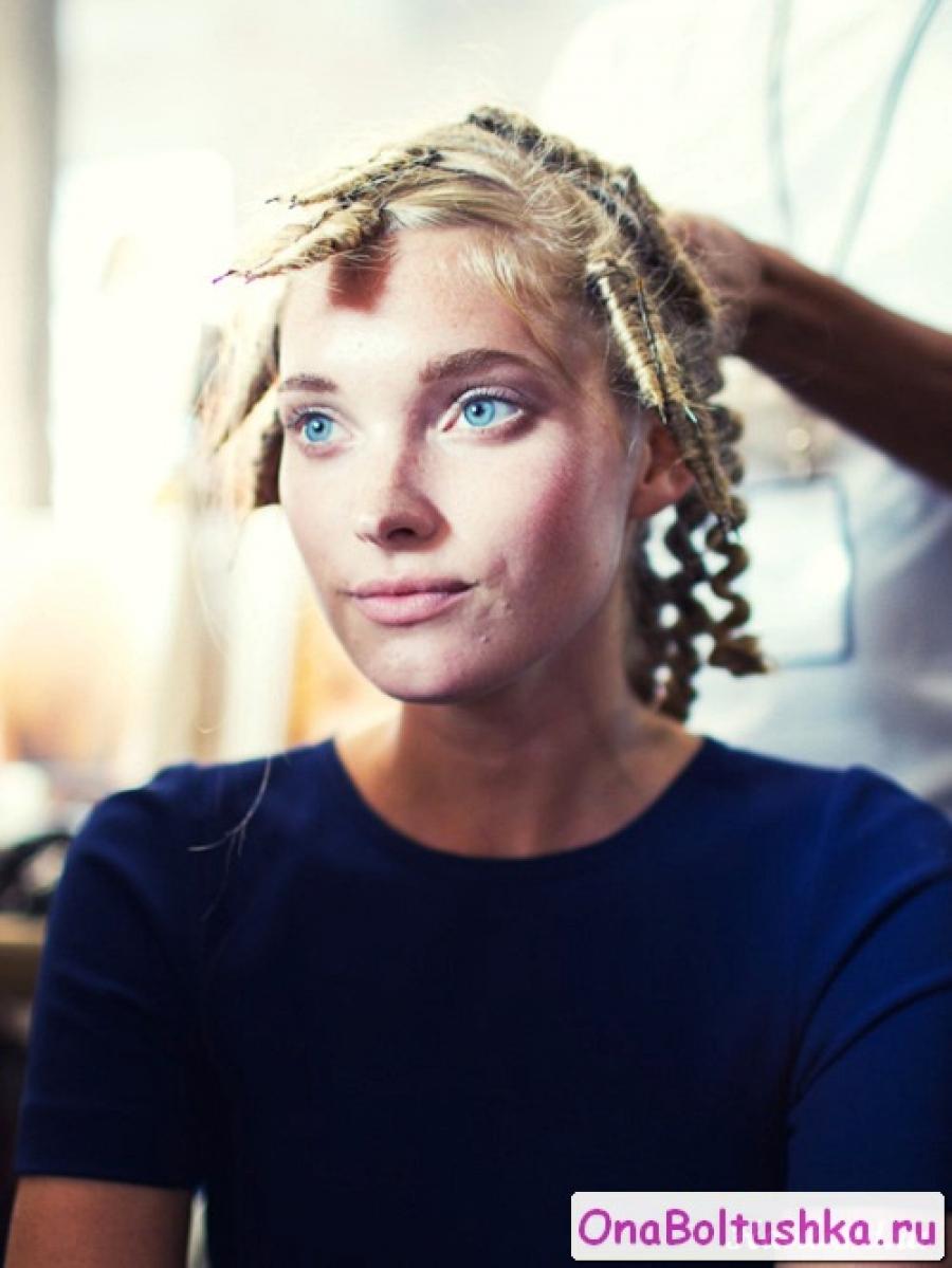 Как завить волосы на шпильки
