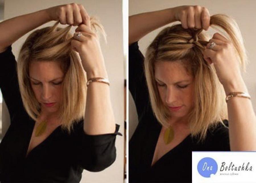 Плетение косичек обучение в картинках