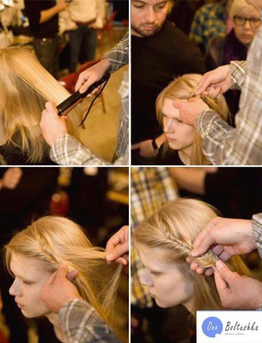 Плетение косичек поэтапное обучение в картинках