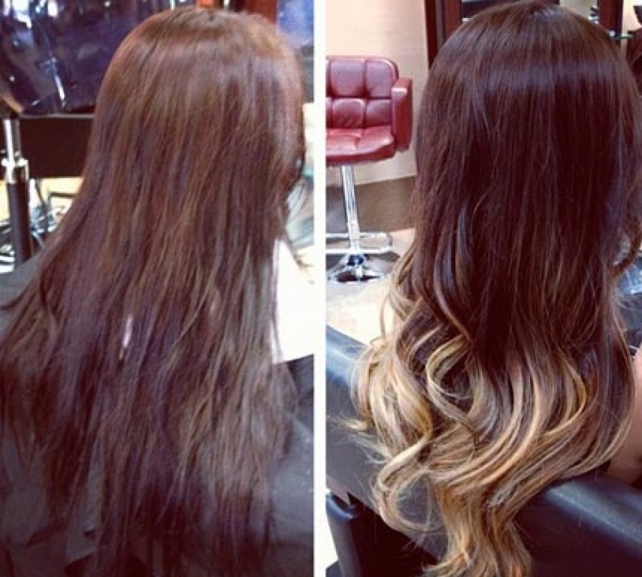 Неповторимое окрашивание методом Ombre Hair Color